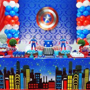 Ideas para fiesta de capitán américa