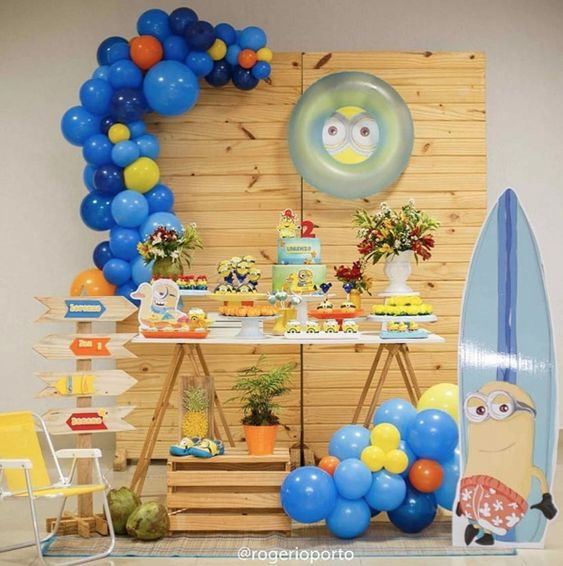Colores de moda para fiestas infantiles tematicas