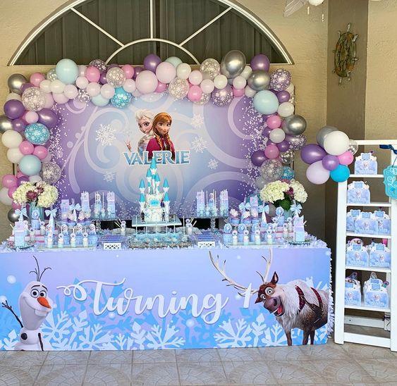 Cumple de Elsa de Frozen