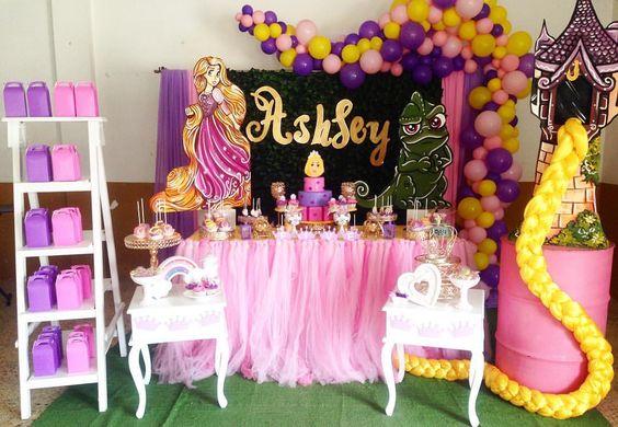 Cumpleaños de Rapunzel