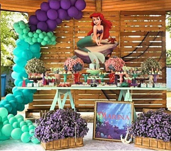 Cumpleaños de la Sirenita Ariel
