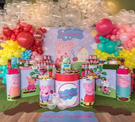 Fiesta Infantil De Peppa Pig Guía Para Su Decoración