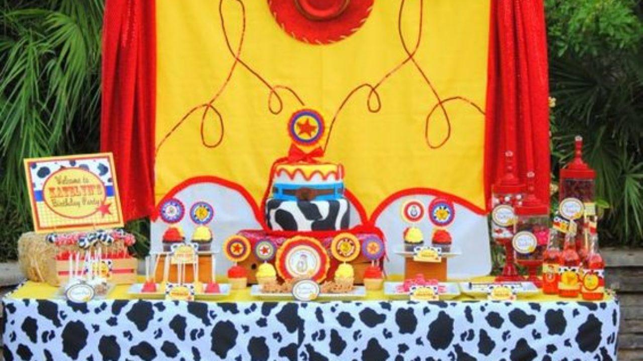 Fiesta De Jessie De Toy Story Ideas Para Decorar El Cumpleaños