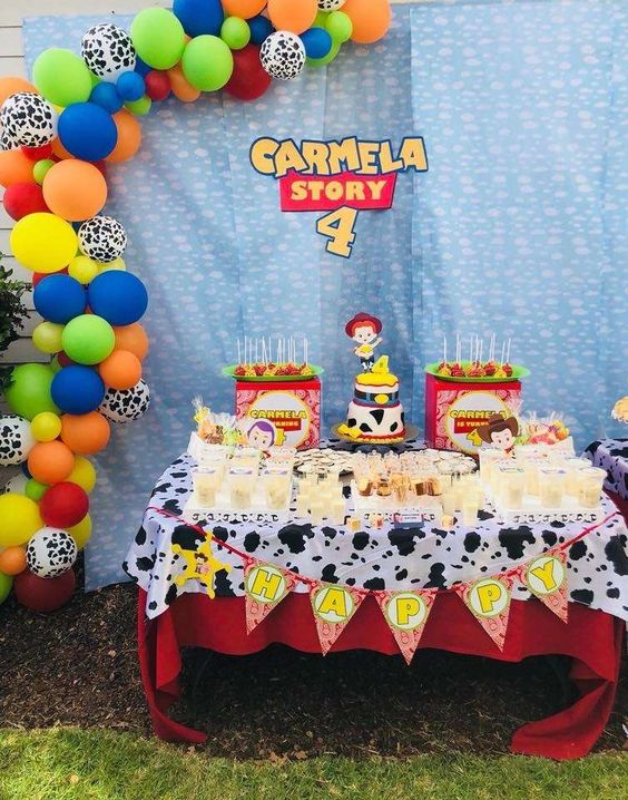 Fiesta de Jessie de Toy Story