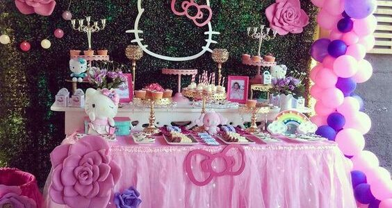 Fiesta infantil de Hello Kitty