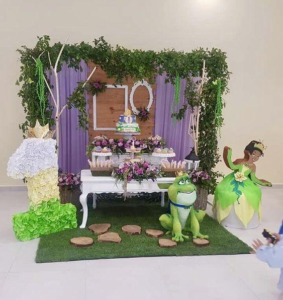 Fiesta infantil de Tiana