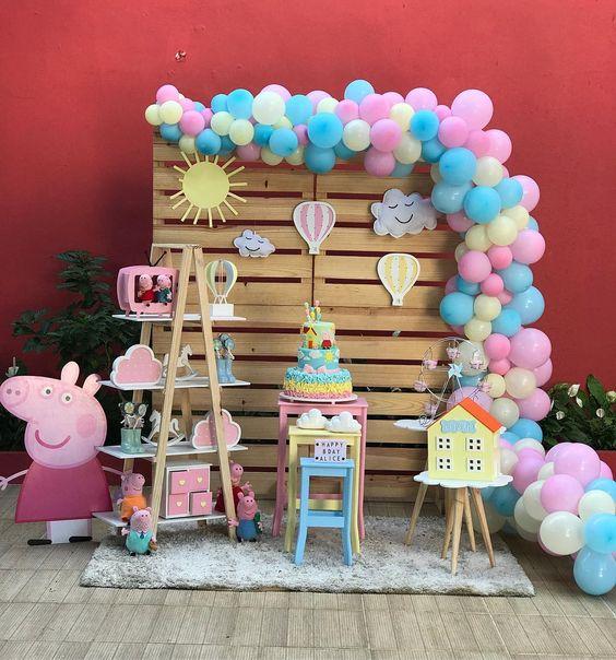 Fiesta infantil de peppa pig
