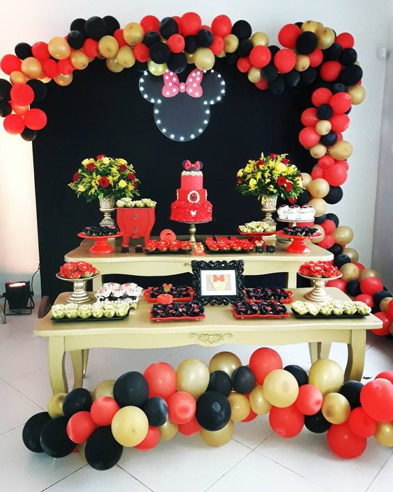Fiesta De Minnie Mouse Rosa Decoracion Ideas Para Las