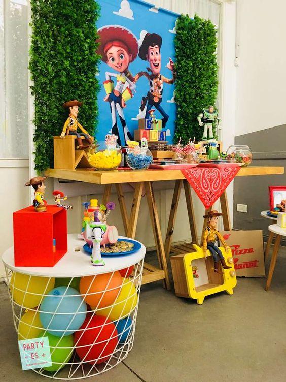 Ideas para decorar una Fiesta de Jessie de Toy Story