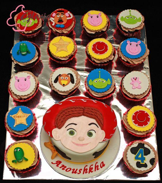 Pastel para Fiesta de Jessie de Toy Story