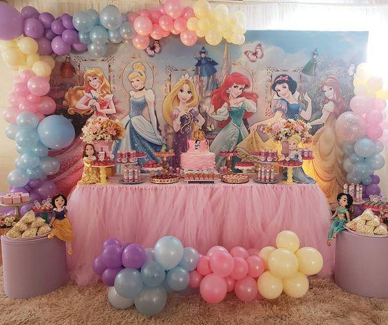 Temas para Fiestas de princesas