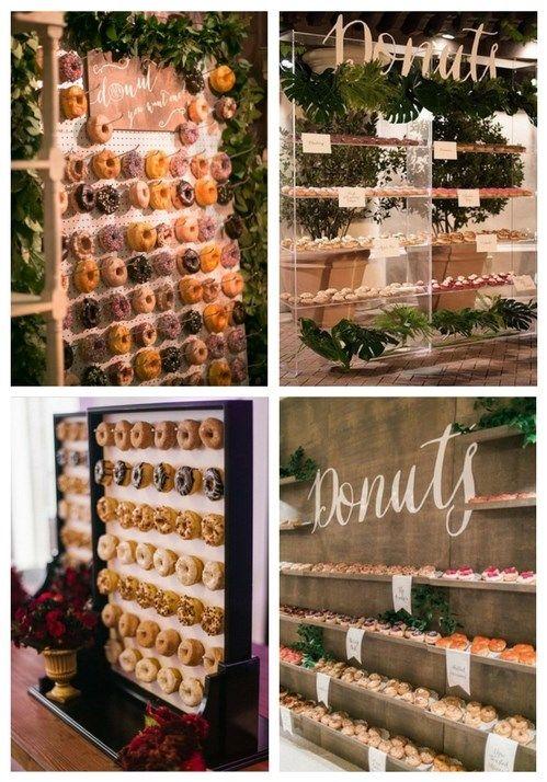 Ventajas de la pared de donas para fiestas