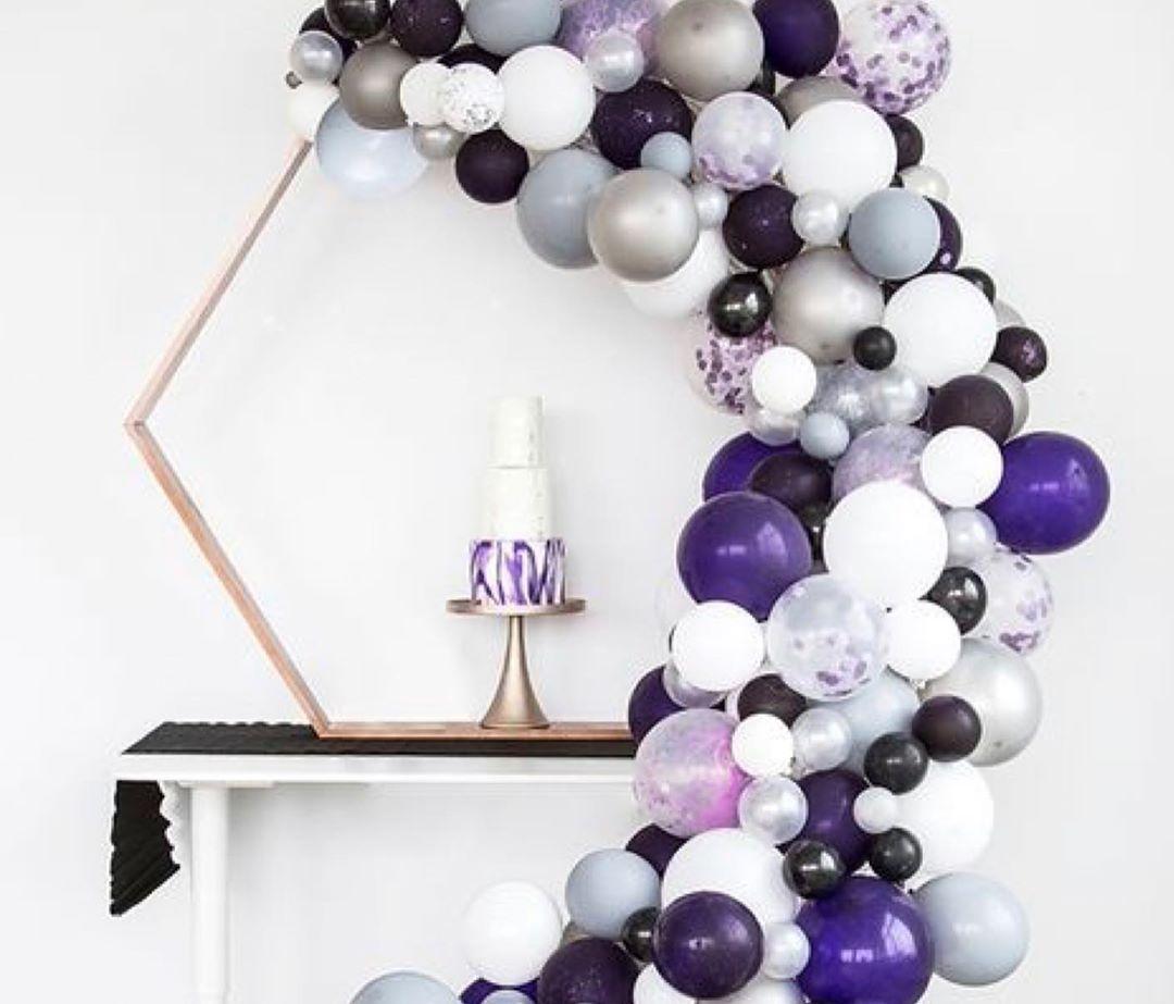 Arcos orgánicos con globos