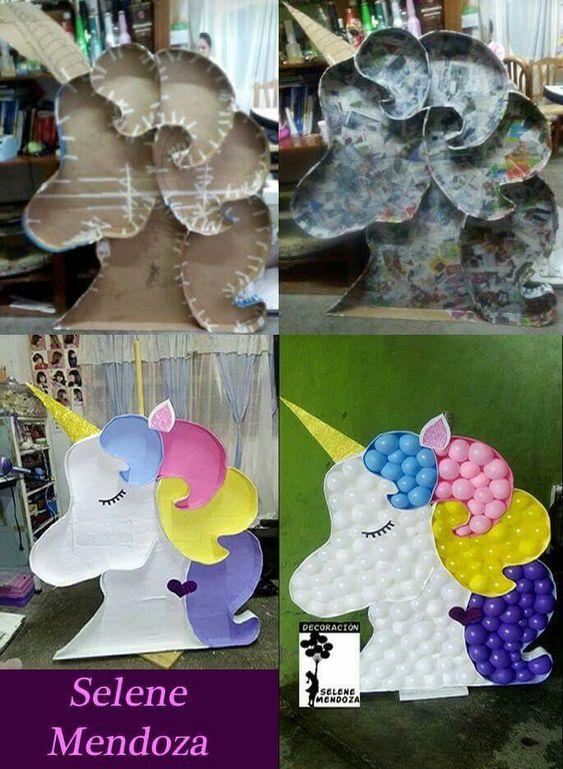 bouquet con globos para decorar fiestas