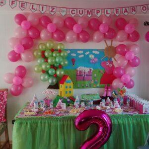 Decoracion fiesta infantil de peppa pig