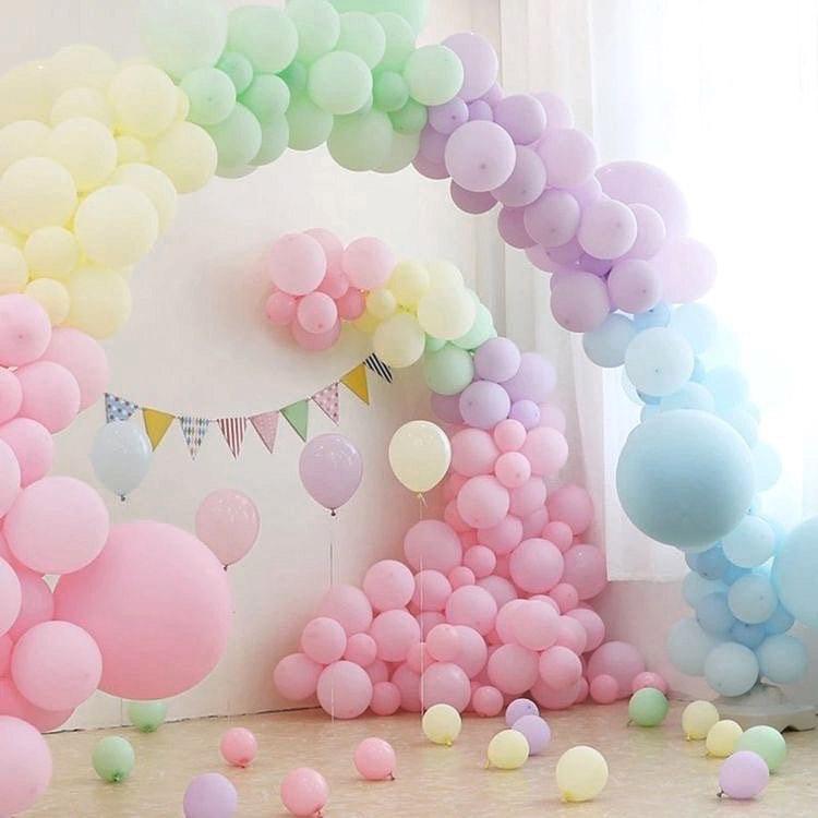 Ideas de como hacer arcos orgánicos con globos