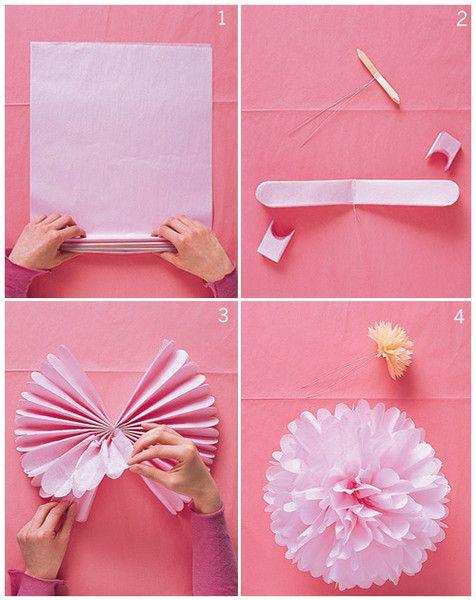 pompones de papel china