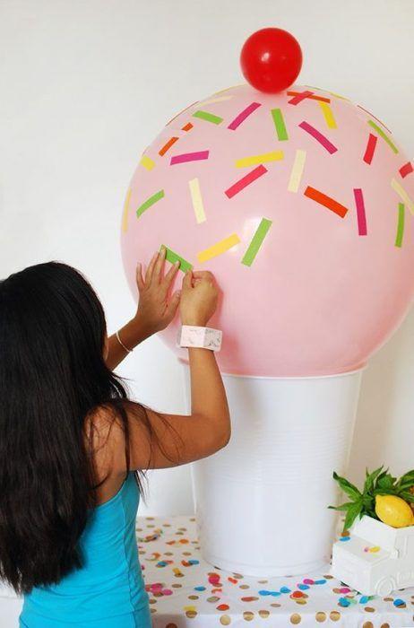 Elabora Accesorios para decorar una Fiesta