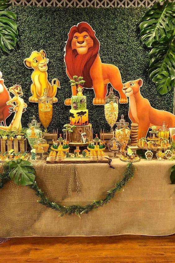 Fiesta tematica del rey león