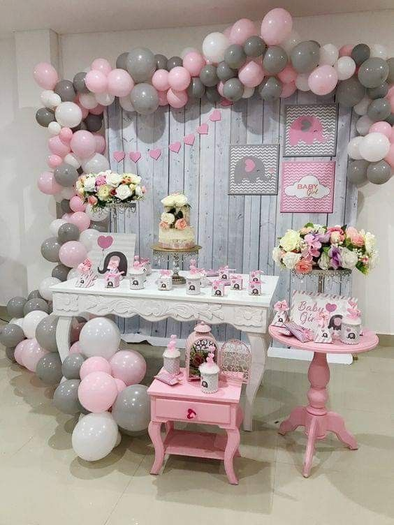 Ideas De Decoracion Baby Shower Nina.Ideas Para Baby Shower De Nina Tematico De Elefantes