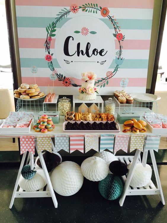 Incluye una Mesa de dulces