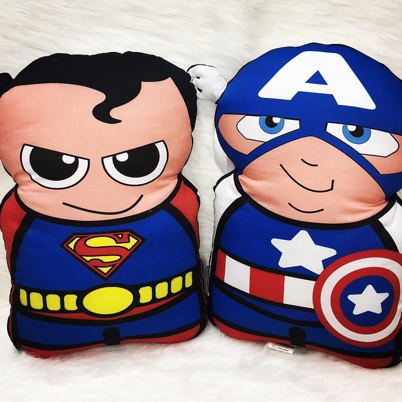 Almohadas para regalar en fiestas infantiles