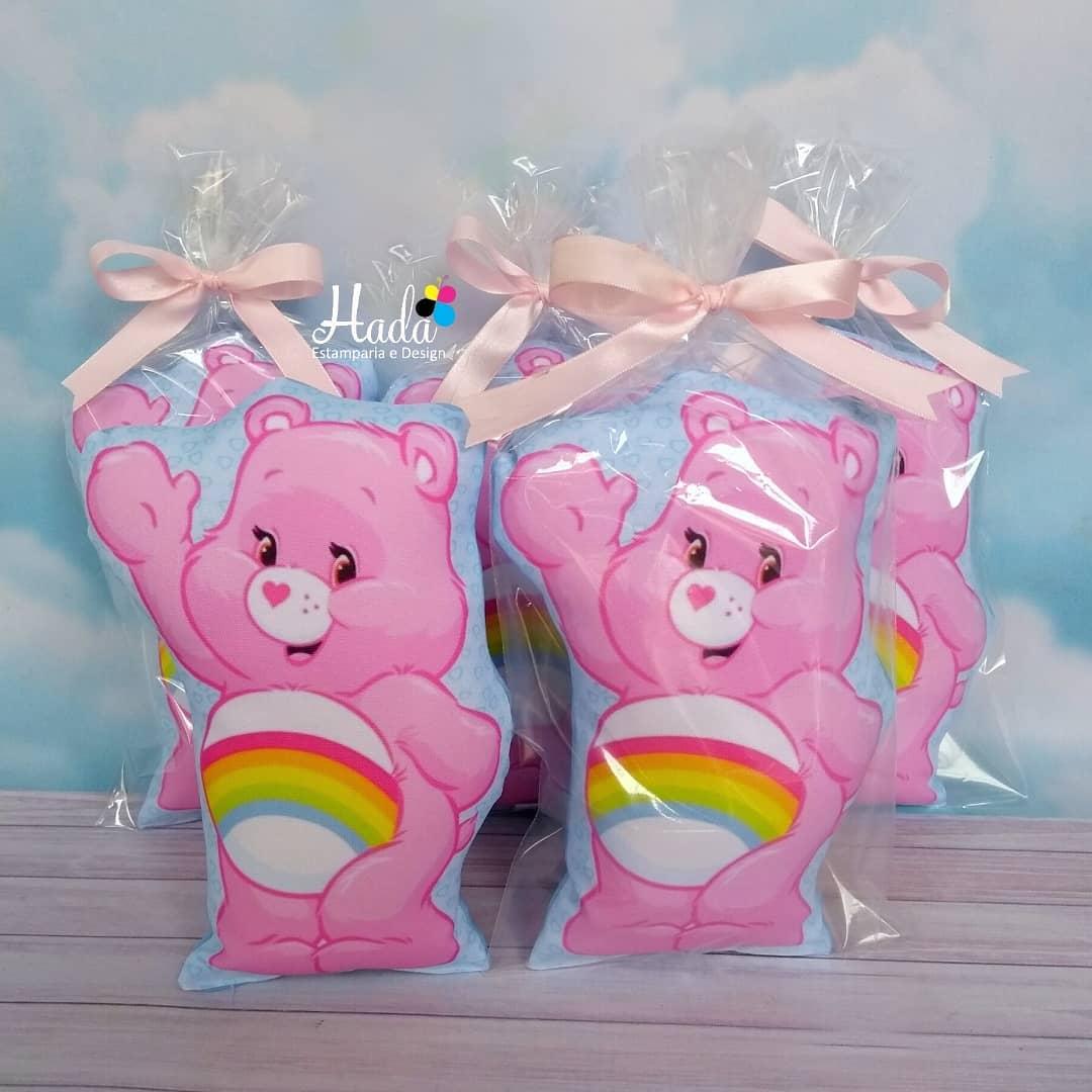almohadas tematicas de ositos carinositos para fiestas de niña