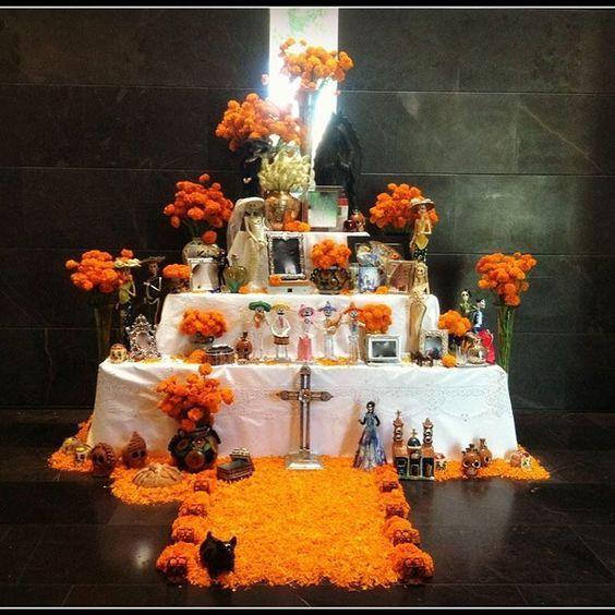 como hacer altares y catrinas para eventos del dia de muertos