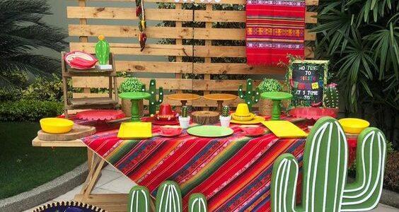 como organizar una fiesta mexicana