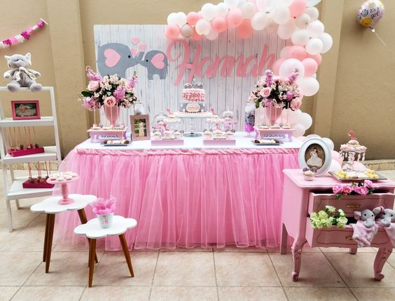 Ideas De Decoracion Baby Shower Nina.Decoracion De Elefantes Para Baby Shower Nina Ideas Para