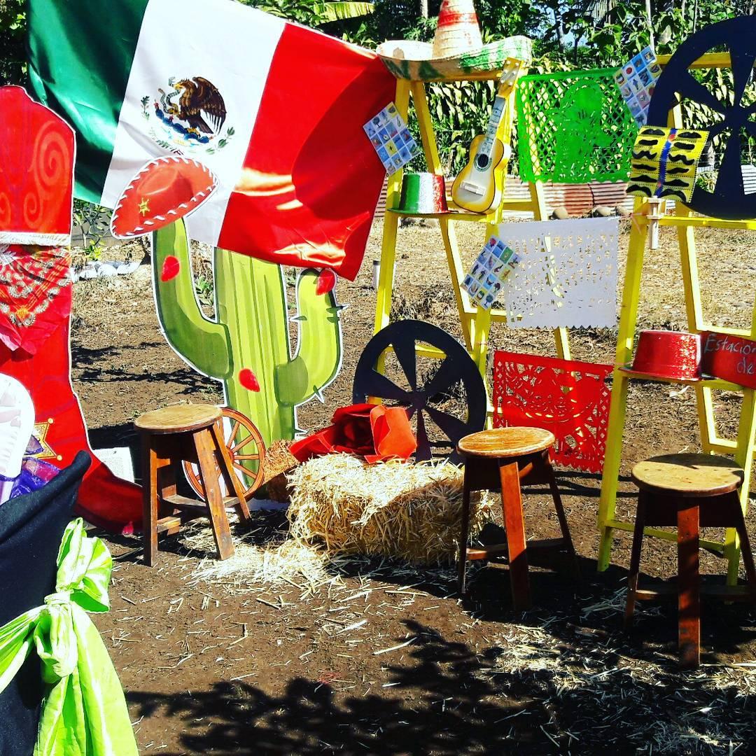 Decoracion para fiesta mexicana