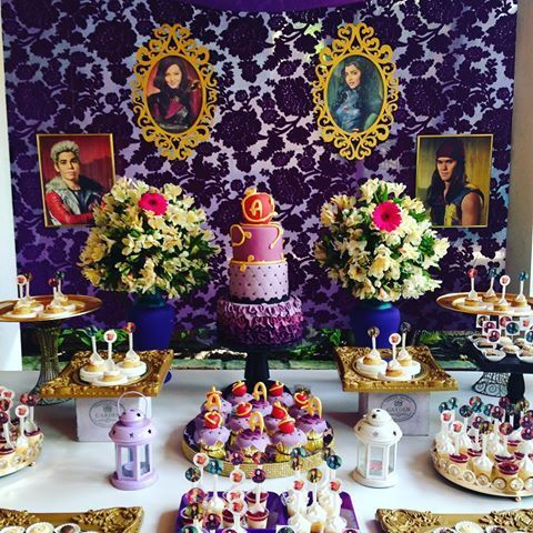 decoracion para una fiesta de decendientes