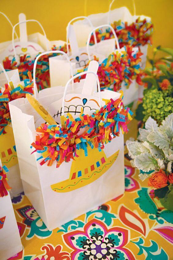 dulceros para una fiesta tematica mexicana