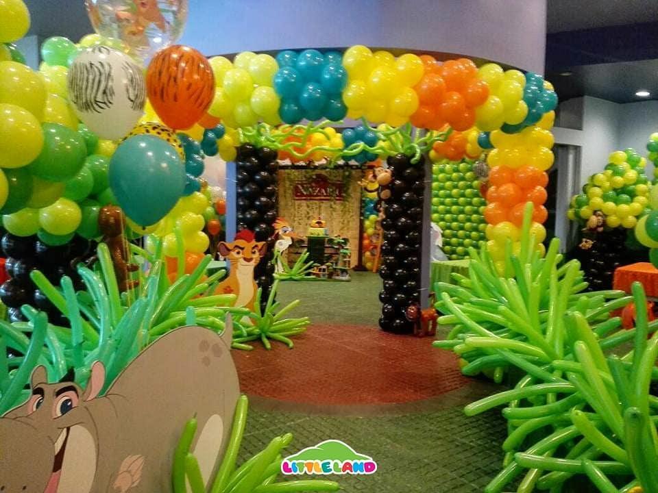 Fiesta temática del rey león
