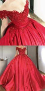 Vestidos rojos para 15 años