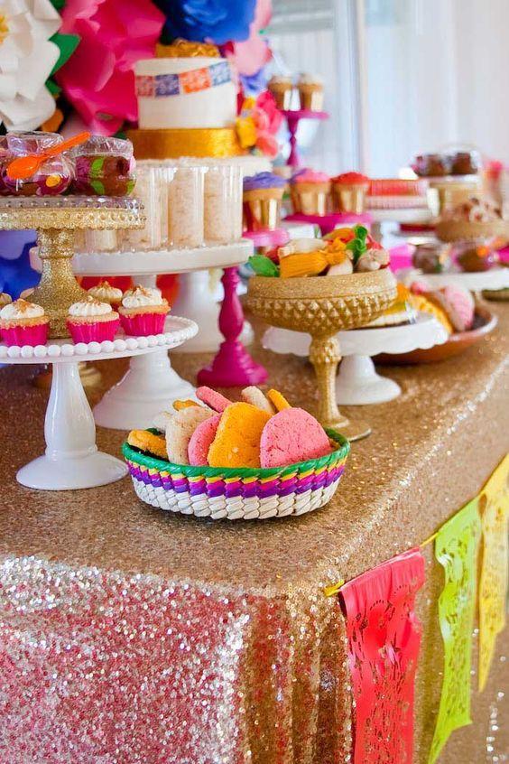 mesa de dulces para quince años charros