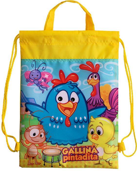 mochilas estampadas para regalar dulces en fiestas infantiles de niño