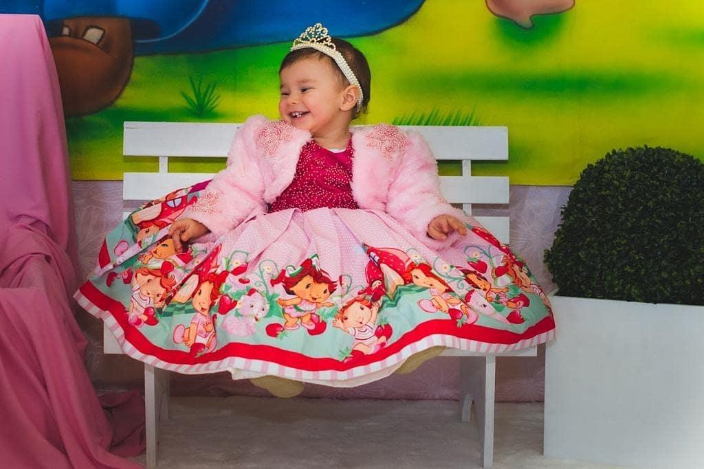 vestido de rosita fresita para outfit de cumpleañera