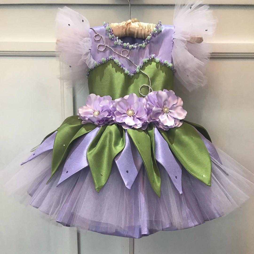 vestido de campanita tipo tutu