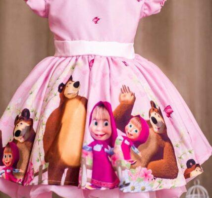 vestidos personalizados de niñas para fiestas infantiles