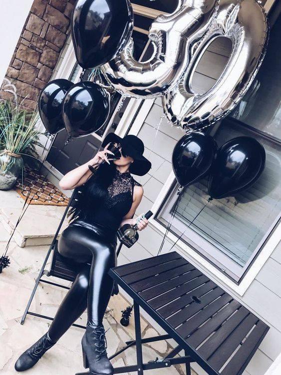 30 ideas para fotos con globos