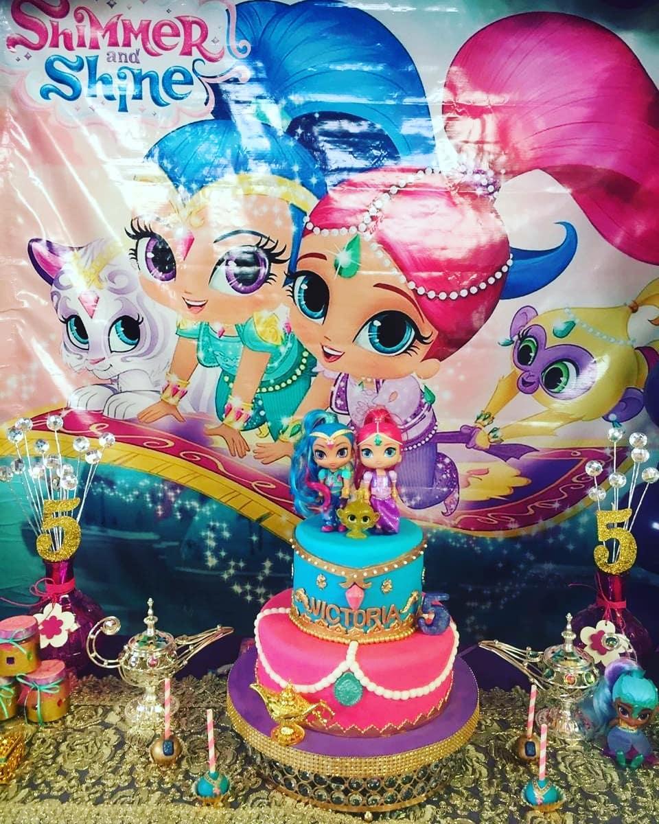 Temas para fiesta de Shimmer y Shine