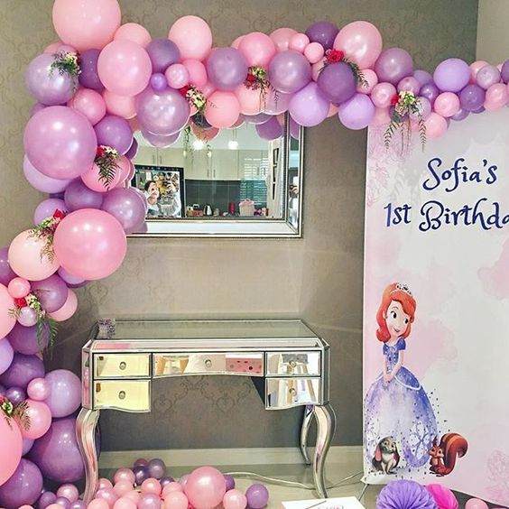 backdrops de princesa sofia