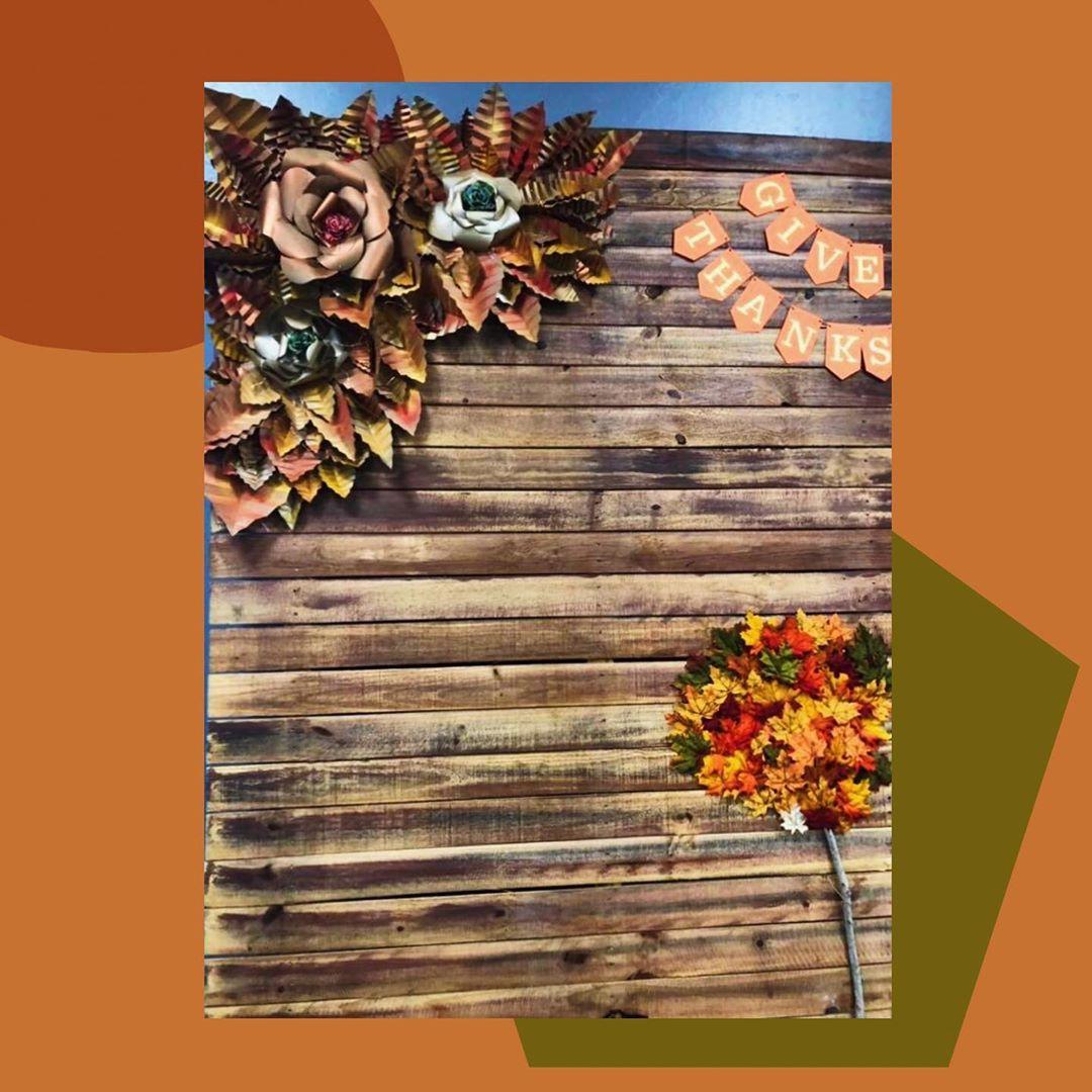 backdrops para thanksgiving