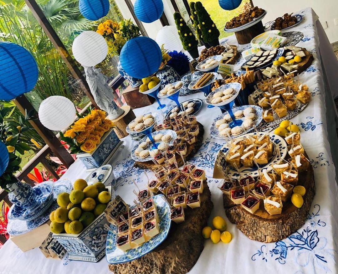 Como controlar una mesa de dulces