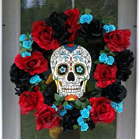coronas para decorar dia de muertos