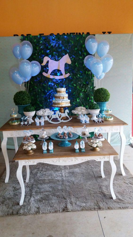 decoracion de fiesta de caballos con globos