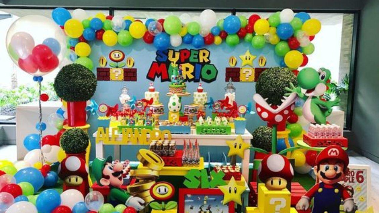 Decoracion De Fiesta De Mario Bros Baby Guía Para Su Decoración