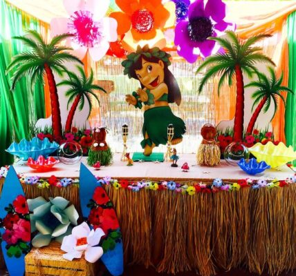 decoracion de fiesta lilo y stich