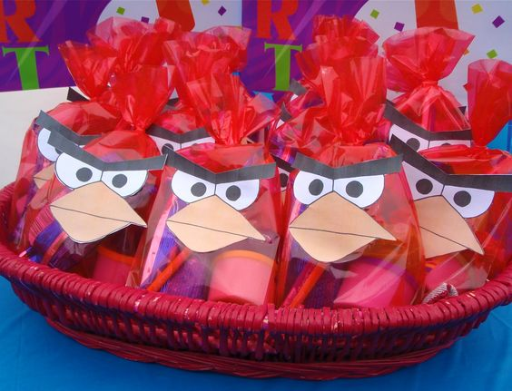 dulceros de angry birds